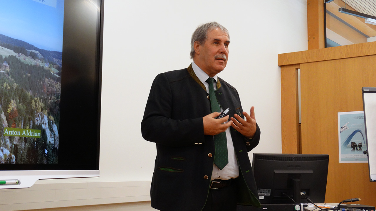 Referent DI Anton Aldrian (Dir. HBLA Bruck Forstschule)