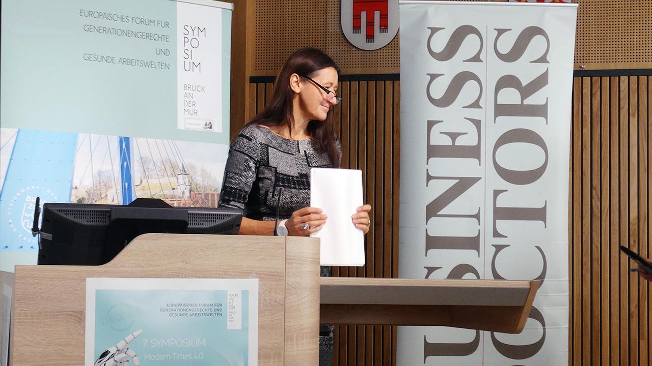 Referentin: Bernadette Matiz MAS, Gesundheitsfonds Steiermark