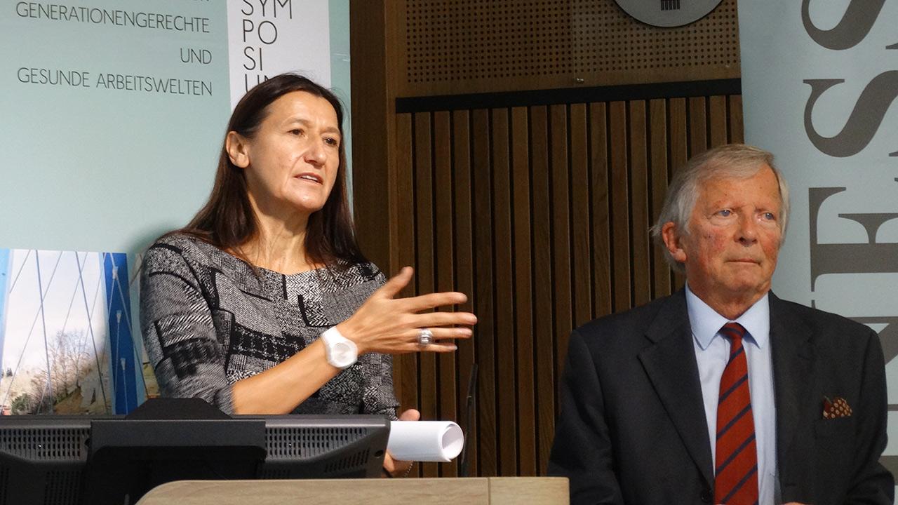 Referentin: Bernadette Matiz MAS, Gesundheitsfonds Steiermark, F.K. Daublebsky (Business Doctors)