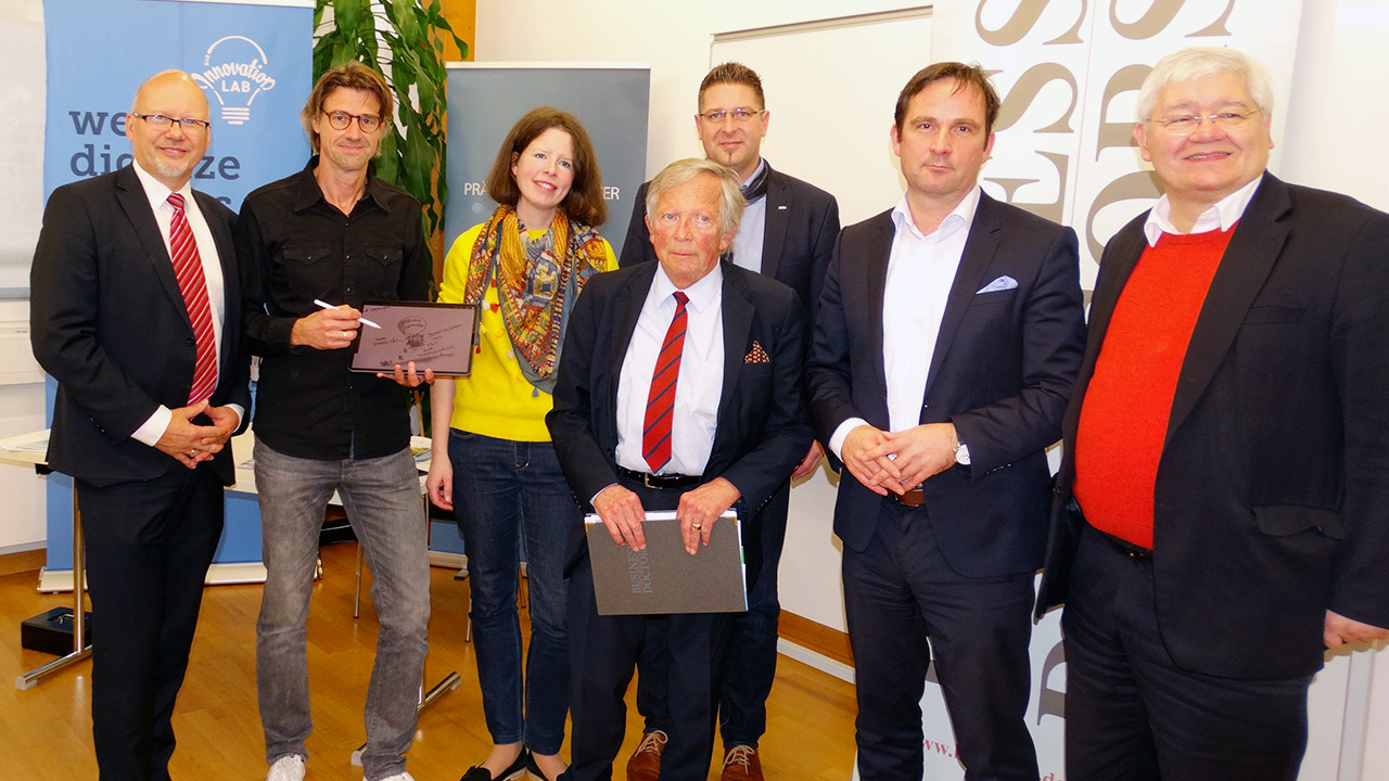 Michael Kornhäusel (Business Doctors), Ing. Reinhard Gussmagg (Gussmagg Art), Dr.in Ute Sonnleitner, VÖGB, F.K. Daublebsky (Business Doctors), DI (FH) Hermann Erlach, Microsoft, Dr. Wolfgang Schinagl (WKO Steiermark)