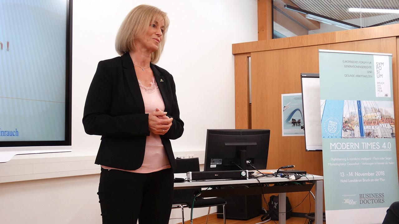 Referentin: Mag. Birgit Jungwirth – Steirische Krebshilfe