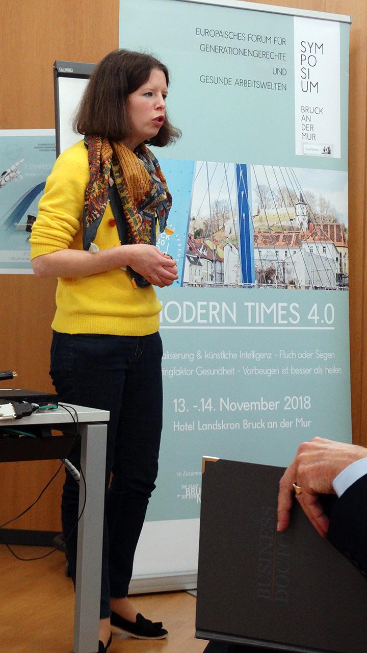 Referentin: Dr.in Ute Sonnleitner, VÖGB