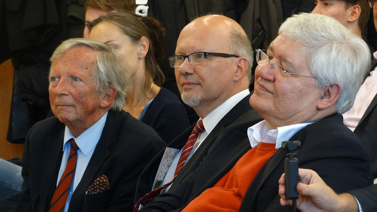 v.l.n.r.: F.K. Daublebsky (Business Doctors), Michael Kornhäusel (Business Doctors), Dr. Wolfgang Schinagl (WKO Steiermark)
