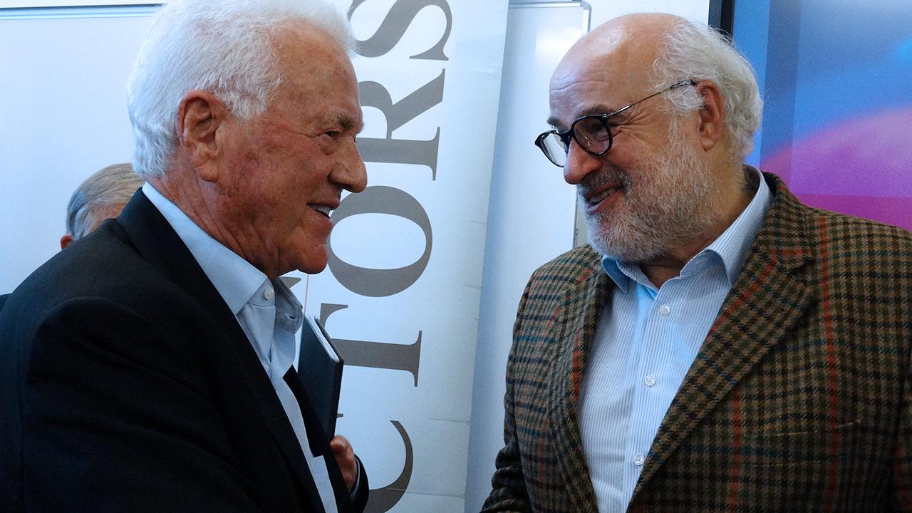 Frank Stronach und Dr. Viktor Weinrauch (Egomanum)