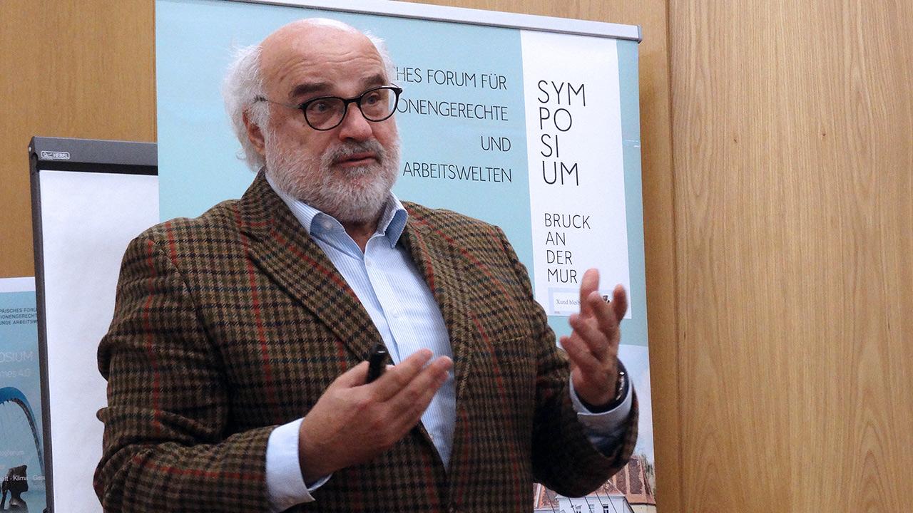 Referent Dr. Viktor Weinrauch (Egomanum)
