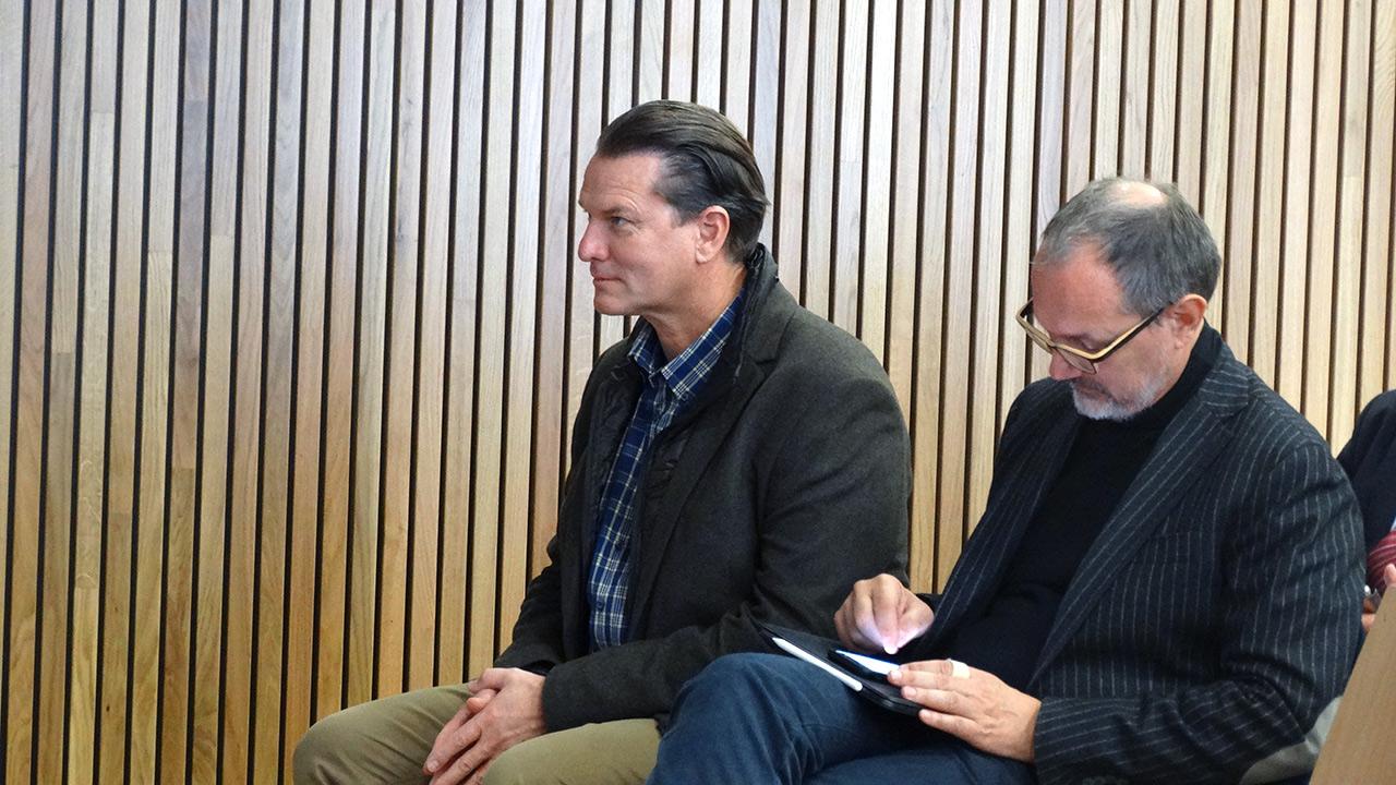 v.l.n.r.: Mag. Dominik Alder (XAL), DI Martin Verdino, Founder + Architect
